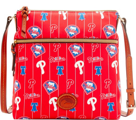 Dooney & Bourke MLB Nylon Phillies Crossbody