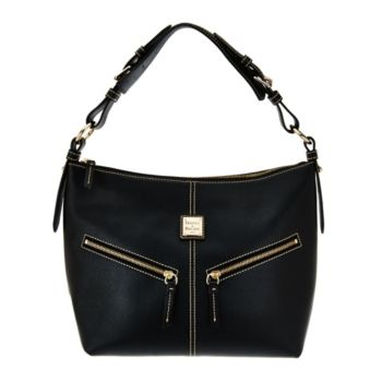 Dooney & Bourke Saffiano Leather Mary Hobo Bag