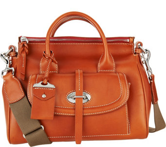 Dooney & Bourke Florentine Tosacana Small Front Pocket Satchel - A283096