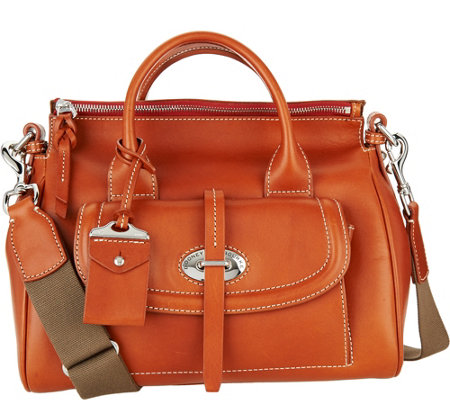 Dooney & Bourke Florentine Tosacana Small Front Pocket Satchel