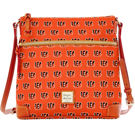 Dooney & Bourke NFL Bengals Crossbody