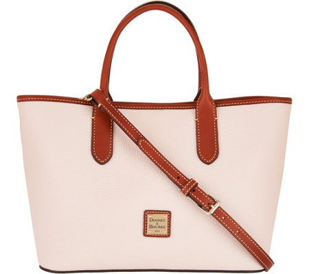 """As Is"" Dooney & Bourke Pebble Leather Brielle Satchel"