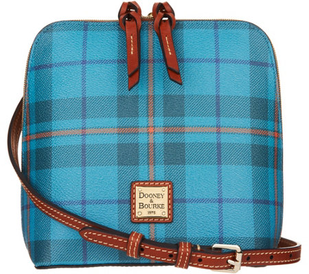 Dooney & Bourke Tiverton Plaid Trixie Crossbody