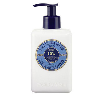 L'Occitane Shea Butter Body Lotion 8.4 oz - A324196