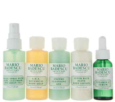 Martha Stewart & Mario Badescu Travel Skincare Kit