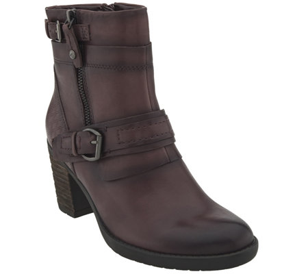 Earth Leather Mid-Calf Boots - Montana