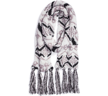 MUK LUKS Women's Tribal Basic Scarf