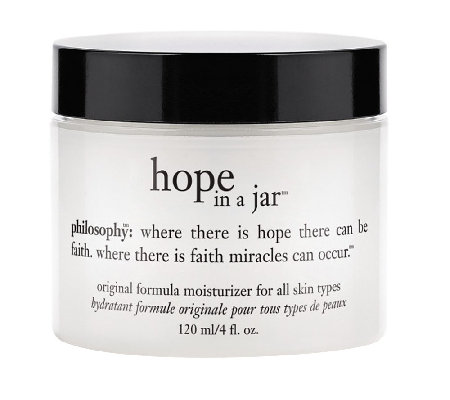 philosophy hope in a jar moisturizer 4oz.