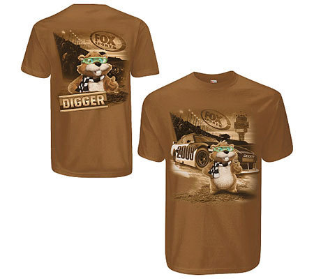 NASCAR on FOX Digger T-Shirt