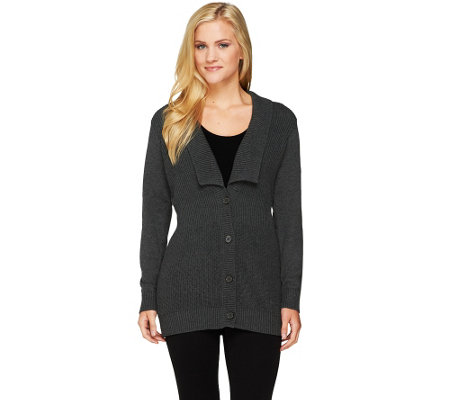 Liz Claiborne New York Cotton Cashmere Cardigan