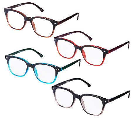 Tashon Ombre Readers Set of 4 Strength 3-3.5