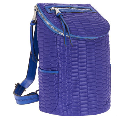 Aimee Kestenberg Nylon Quilted Backpack - Jasame