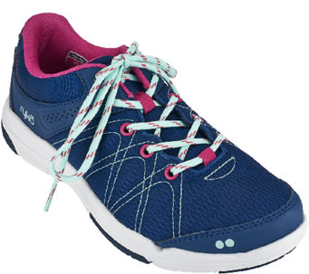 Ryka Lace-up Water Resistant Sneakers - Summit - A268397