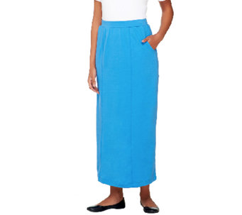 """As Is"" Denim & Co. Active French Terry Skirt with Seam Detail - A270697"