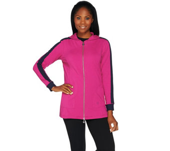 Linea Leisure by Louis Dell'Olio Zip Front Hoodie - A273297