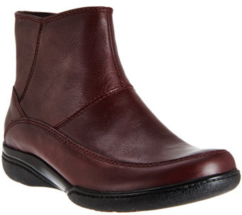 Clarks Leather Waterproof Ankle Boots - Kearns Flame - A277897