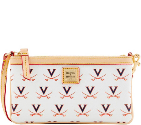 Dooney & Bourke NCAA University of Virginia Slim Wristlet