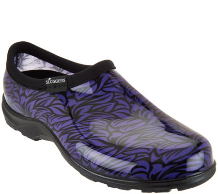 Sloggers Waterproof Casual Floral Garden Shoe