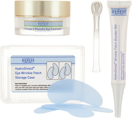 Dr. Denese S/2 Hydroshield Eye Patches & & Omega-3 Eye Treatment