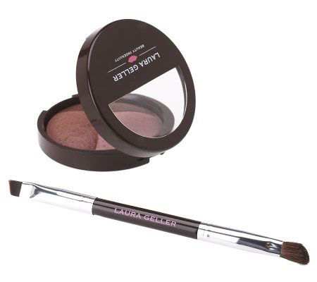 Laura Geller Baked Eye Pie Eyeshadow Trio withBrush