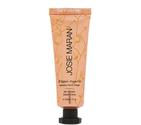 Josie Maran Whipped Argan Oil Intensive Hand Cream, 1 oz