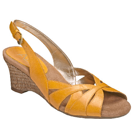 A2 by Aerosoles Core Comfort Wedge Sandals - Zenchilada