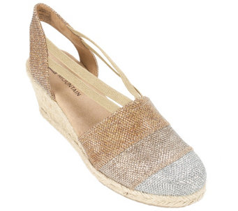White Mountain Espadrille Wedges - Supreme - A340197