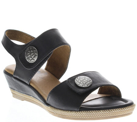 Spring Step Wedge Sandals - Magali