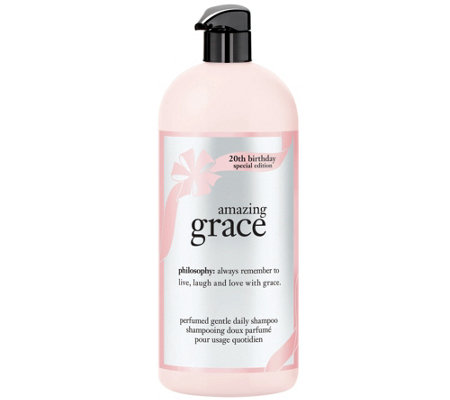 philosophy amazing grace shampoo, 32 oz