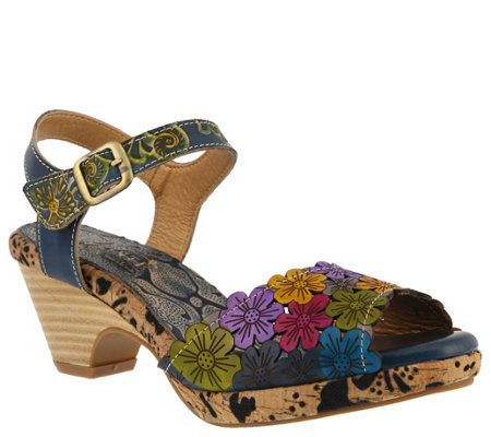 L'Artiste by Spring Step Leather Sandals - Zalma