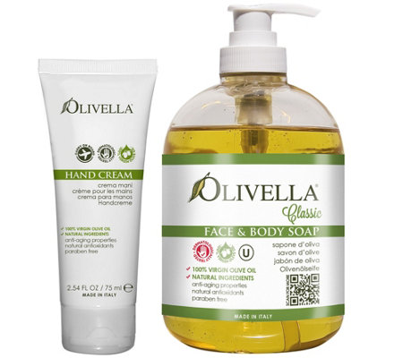 Olivella Anti-Aging Hand Care Duo