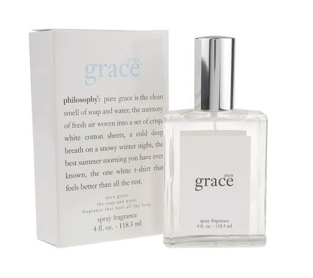 philosophy super-size pure grace spray 4 oz. Auto-Delivery