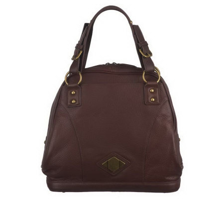 Luxe Rachel Zoe Boylston Leather Bowling Bag