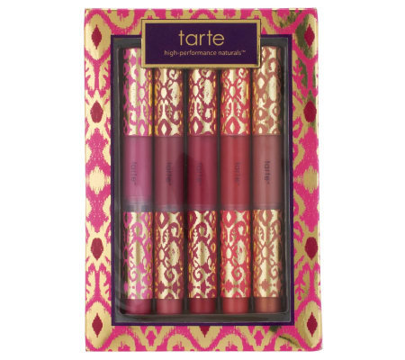 tarte Holiday 5-pc Maracuja Divine Shine Lip Glosses