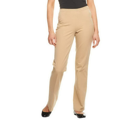 Isaac Mizrahi Live! Petite 24/7 Stretch Boot Cut Pants