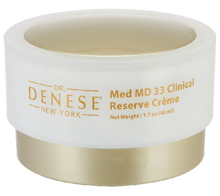 Dr. Denese Med MD 33 Clinical Reserve Creme, 1.7 oz.