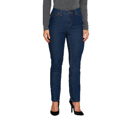 Liz Claiborne New York Regular Jackie Slim Leg Jeans