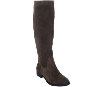 Sole Society Suede Tall Shaft Pull-on Boots - Kellini - A258098