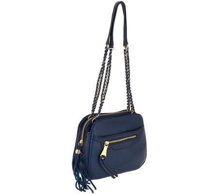 Aimee Kestenberg Pebble Leather Shoulder Bag - Cali