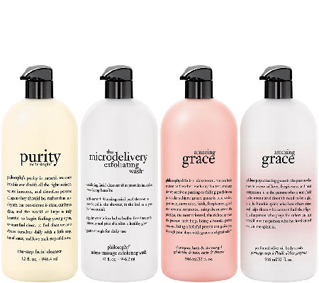 philosophy supersize purity & grace 4 pc collection