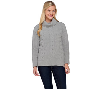 Liz Claiborne New York Turtleneck Soft Pullover Sweater - A269198