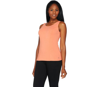 Linea Leisure by Louis Dell'Olio Solid Knit Tank Top - A273298