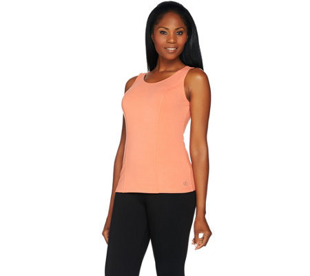 Linea Leisure by Louis Dell'Olio Solid Knit Tank Top