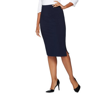 Women with Control Regular Tummy Control Pencil Skirt - A280898