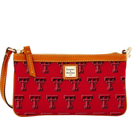 Dooney & Bourke NCAA Texas Tech University Slim Wristlet