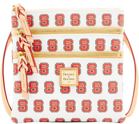 Dooney & Bourke NCAA NC State University Zip Crossbody