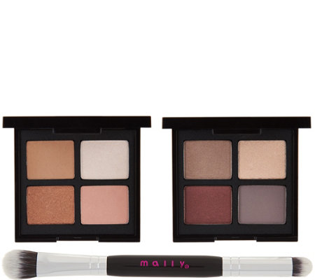 Mally Open Up! Eyeshadow Quad Duo