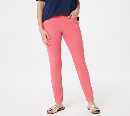 Belle by Kim Gravel Flexibelle Petite Pull-On Knit Jeggings