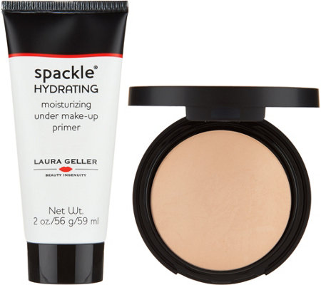Laura Geller Double Take Baked Foundation w/ 2 oz Spackle