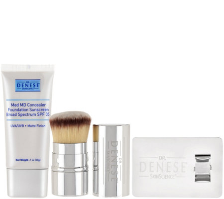 Dr. Denese MedMD Antiaging SPF Foundation with Brush and Ring Plate